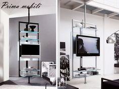 Итальянская модульная стойка для ТВ Ubiqua Porada купить в Москве в Prima mobili