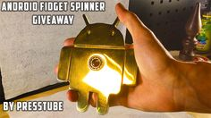 In this giveaway you can win a unique home-made brass Android Fidget Spinner from the channel PressTube. The spinner is made from empty Bullet Shells Giveaways, Android, It Cast, Euro, Free, Random, Awesome, Check, Places