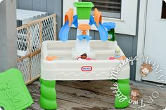 Cool Off This Summer with a Little Tikes Sandy Lagoon Waterpark   Review