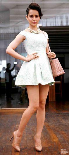 A ladylike sexiness. #KanganaRanaut