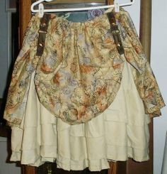 A steampunky map skirt!? PLEASE!