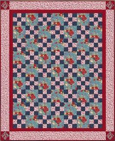 Comfort and Charm Irish Chain Quilt | FaveQuilts.com
