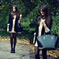 Sasha Shcherbakova - Zara Bag - Autumn Elegance