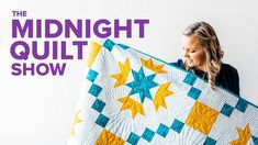 Angela is kicking off Season 7 of the Midnight Quilt Show with a redemption story. She's made this Thistle quilt pattern before with half-square triangles but thinks this flying-geese version will be much easier to quilt. Quilting Blogs, Longarm Quilting, Quilting Tutorials, Quilting Projects, Sewing Tutorials, Sewing Projects, Strip Quilts, Quilt Blocks, Star Blocks