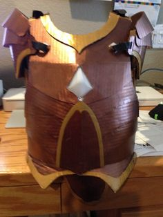 In addition to the sword prototypes, I am working on the Guardian armor. My plan is to have two slightly different versions of the armor to...