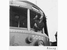 戦時、女性車掌