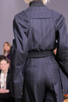 Maison Martin Margiela Details A/W '13...LOVE THE TROUSERS AND JACKET WITHOUT THE RIDICULOUS SLEEVES.