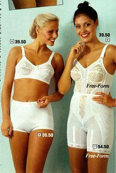 fc788101e00d5 Free-Form long leg panty girdle and longline bra