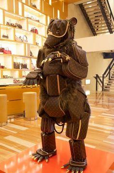 Even Louis Vuitton loves the bears... #Baylor