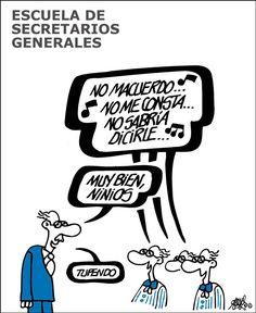 Forges: Escuela de Secretarios Generales Forges: El País 22/06/2017Archivado en: España Forges Humor