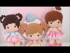 Aula boneca de feltro - régua Andressa Salomão - YouTube