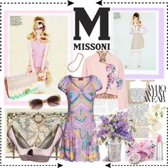 M for Missoni !, created by fantasy-rose on Polyvore