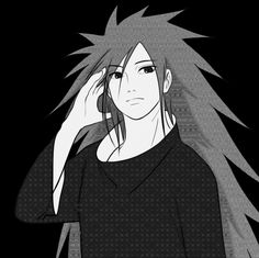 Most people want to grow their hair like Rapunzel's.. My hair goals is Madara's hair. Just look at it, so silky, so long <3