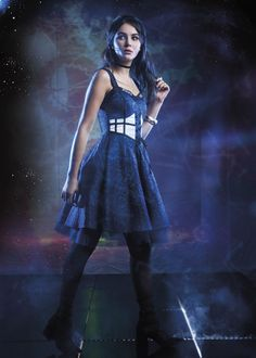 TARDIS Lace-Up Dress: $79.50 at all Hot Topic stores and HotTopic.com