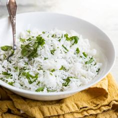 Chipotle Cilantro Lime Rice Recipe (Copycat)