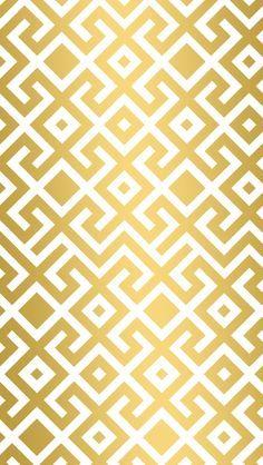 Gold geometric trellis iphone wallpaper phone background lock screen