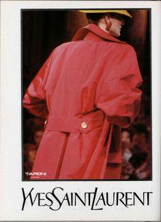 1988-89 - Yves Saint Laurent Couture show -