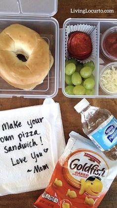 School Menu, Back To School Lunch Ideas, School Lunch Box, Easy School Lunches, Lunch Box Recipes, Diet Recipes, Menu Calendar, Make Your Own Pizza, Printable Planner