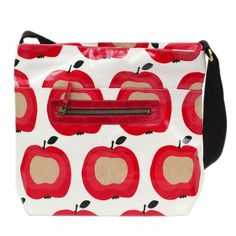 Apparently it is National Apple Day #nationalappleday Hurrah! https://www.rosyrosie.com/35-oilcloth-pvc-bags-and-washbags