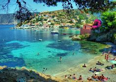 Assos village on an island Kefalonia. Beautiful and the most romantic place I've been to.