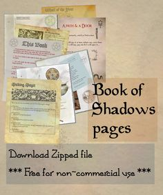 DeviantArt: More Collections Like Book of Shadows 02 compendium by Sandgroan Wiccan Magic, Wiccan Spells, Magick, Witchcraft Books, Wiccan Crafts, Wolfsbane, Spiritual Guidance, Book Of Shadows, Spelling