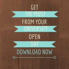 Visiting a university for an open day? Read the tips on getting the most out of your day