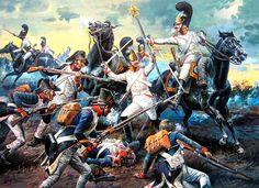 1805 12 02 Austerlitz, captura del águila del 4eme Ligne - Aleksandr Yezhov