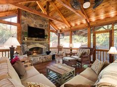 screened porch...what a porch it is!!!