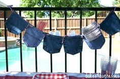 She Grabs A Pair Of Old Jeans And Starts Cutting. What She Makes? This Is…