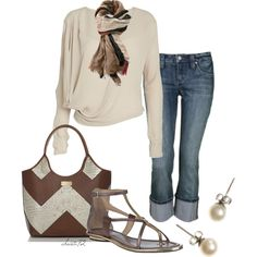 Autumn Chevron by christa72 on Polyvore