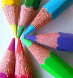 I love me a freshly sharpened pencil!