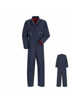 d3be0f071b85 Red Kap Insulated Twill  Coverall Medical Uniforms