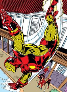 Iron Man returns to the Avengers West by John Byrne