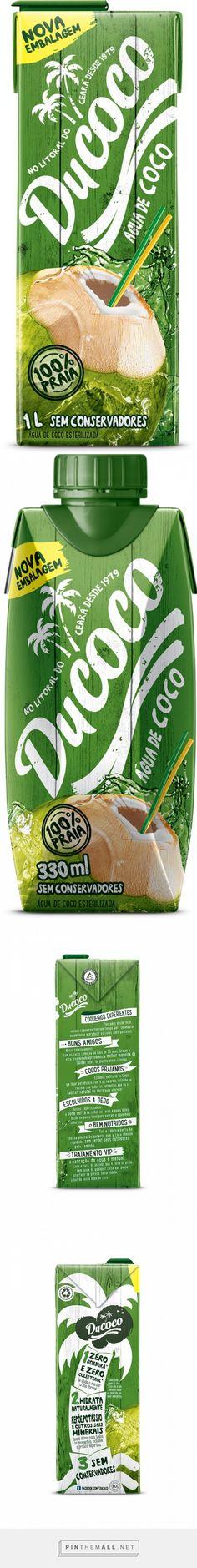Ducoco   água de coco   #packaging #design