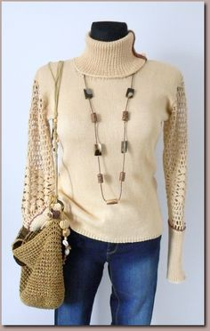 Ready for shipment :) https://www.etsy.com/listing/212382045/chocolate-cappuccino-knitted-top?ref=shop_home_active_1