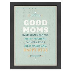 Showcasing a playful quote surrounded by a wood frame, this eye-catching print is at home in your den or beside a bookshelf.  Produc...