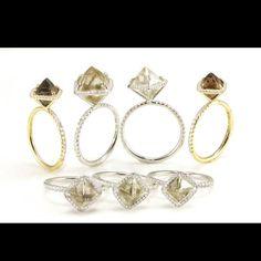 Diamonds in the raw. Want