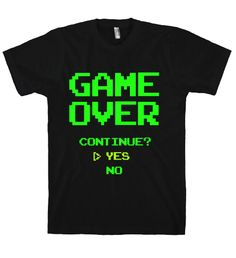 GAME OVER TEE*
