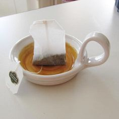 Tea Bag Holder Candle Holder Handmade Pottery by SharsArtPottery, $12.00