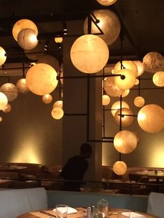Lights at The Pump Room, Chicago
