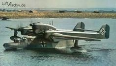 A Blohm & Voss BV 138 known as the Seedrache (Sea Dragon) long range reconasince and maritime patrol flying boat.