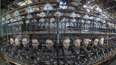 Once these stores and factories sold the stuff of children's dreams, but now that they lie abandoned—filled with decaying displays and disembodied doll heads—they are more likely to inspire nightmares.