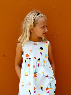 Ice Cream Dress for Clementine