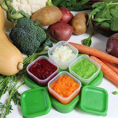 Make Homemade Vegetable Purees