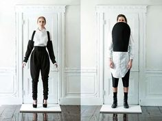 The David Yoo Spring/Summer 2010 Collection is All About Androgyny #tomboy #fashion trendhunter.com