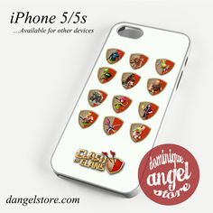 Clash of Clans All Character Phone case for iPhone 4/4s/5/5c/5s/6/6 plus