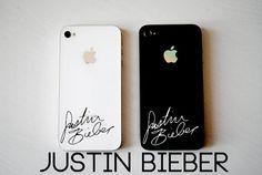 Justin Bieber Autograph Vinyl
