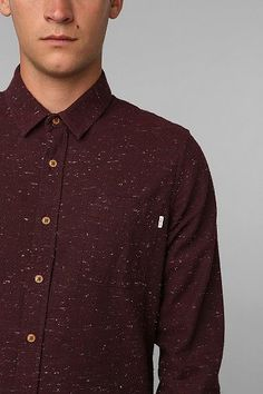 OBEY Last Call Button-Down Shirt - Urban Outfitters. $72.00. #fashion #men #shirt