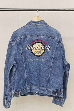 Vintage Hard Rock Cafe San Francisco Denim Jacket