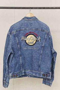 Vintage Hard Rock Cafe San Francisco Denim Jacket